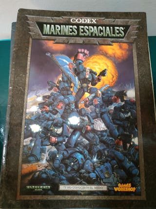 Codex marines espaciales Warhammer 40k