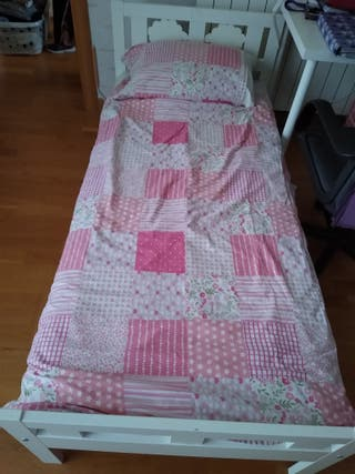 Kritter, estructura de cama y somier