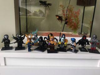 Lego Villanos Marvel.