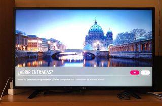 Televisión LG 4k 43UH60