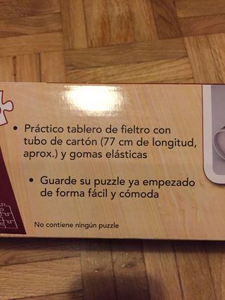 Tablero de fieltro para puzzle