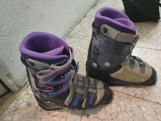 Botas esqui niña- mujer . Nordica
