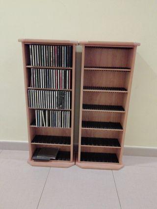 mueble estantería para CD y dvd