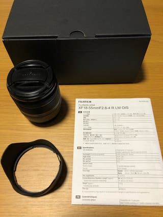 Objetivo Fujifilm 18-55