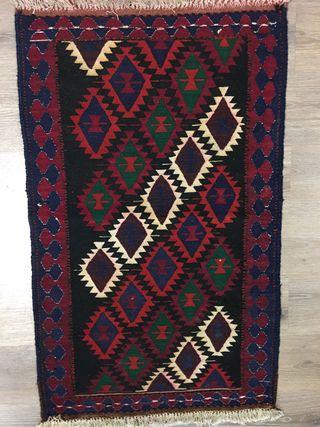 Kilim lana artesanal persa