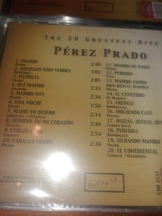 6 CDs. The 20 Greatest Hits ¡¡NUEVOS!! Original