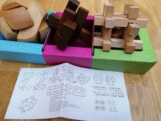 Juegos ingenio de madera
