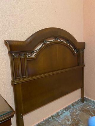 Dormitorio de Madera de Cerezo Completo