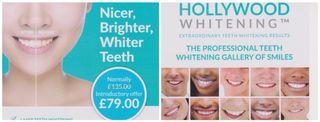 Professional laser teeth whitening