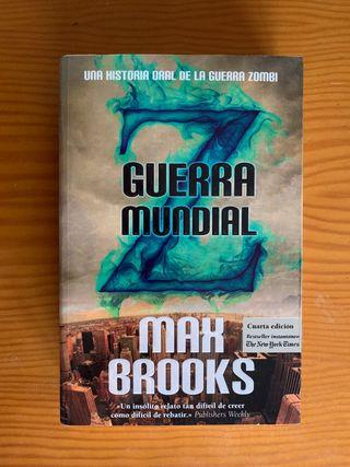 Guerra Mundial Z novela por Max Brooks
