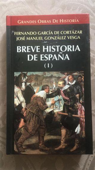 BREVE HISTORIA DE ESPAÑA. GARCIA DE CORTAZAR et al