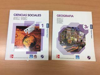 libros geografia e historia 1 ESO 3 ESO