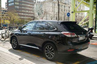 Lexus RX450h F-Sport 2012