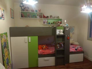 CAMA TREN-DORMITORIO INFANTIL