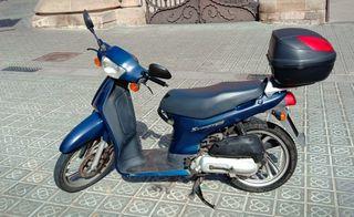 Moto Honda Scoopy 100