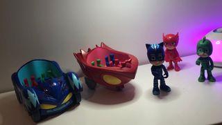 Juguete muñecos y vehículos PJ Mask