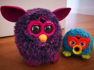 Furby Plum Marble+Furby Party Rockers