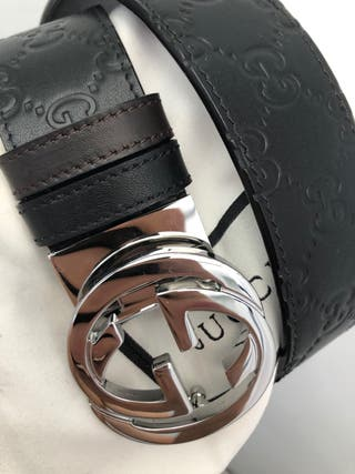 Brand new Gucci double sided leather belt
