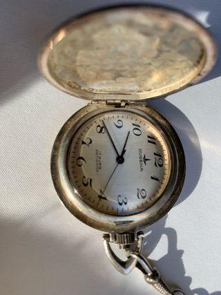 Reloj alemán de plata antiguo
