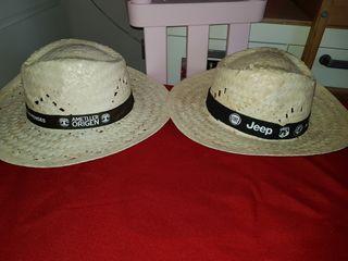 sombreros paja