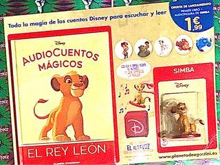 AUDIOCUENTOS MÁGICOS DISNEY 1 EL REY LEON