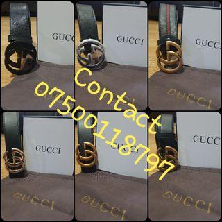 gucci belt mens womens ladies black gold