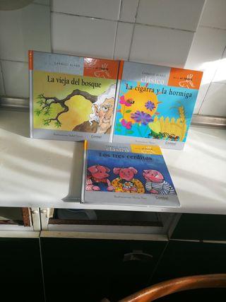 libros las tres 3€