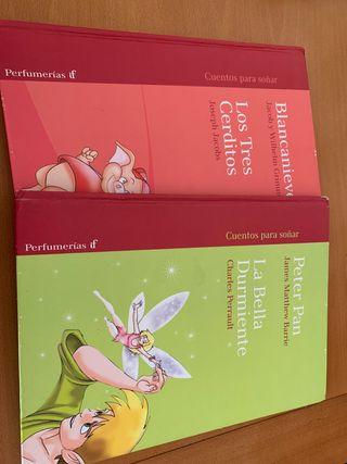 Libros de Blanca Nieves, los tres cerditos...
