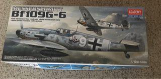 Caza alemán Bf109G-6 II Guerra Mundial