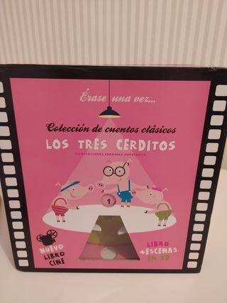 Libro Cine Los Tres Cerditos