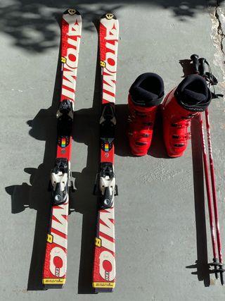 Equipo esqui Junior