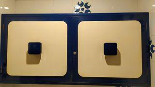 Armario y mueble espejo lavabo Vintage