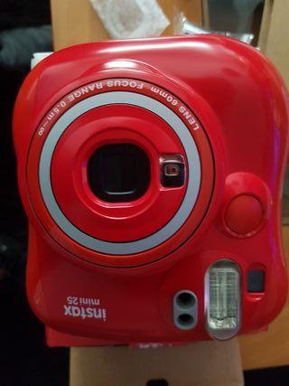 Cámara fotos fujifilm instax mini 25