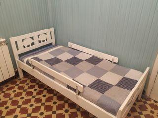 cama ikea kritter con colchón