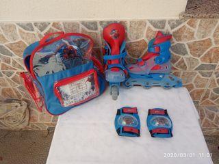 Patines en línea Spiderman Talla 30