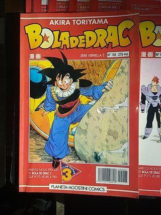 """lote comics """"bola de drac z"""""""