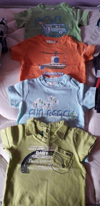 Camisetas 6-9 meses