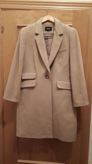 abrigo de paño grande L o XL