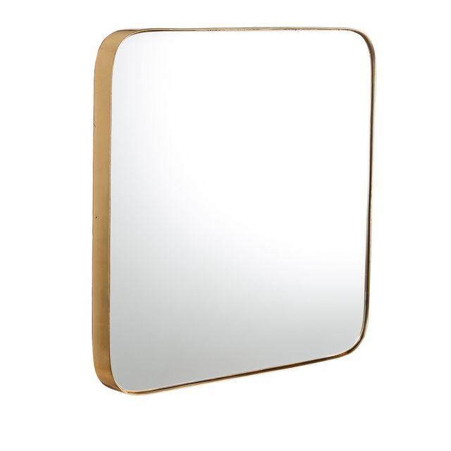 Espejo de pared dorado. Como nuevo.