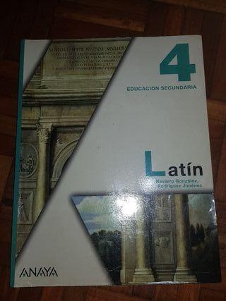LIBRO LATÍN 4°ESO
