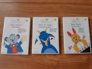 3 DVDs Baby Einstein