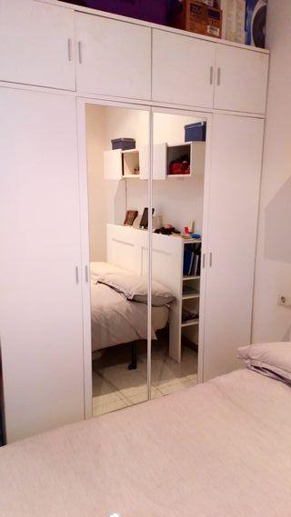 Armari 4 portes per a habitació