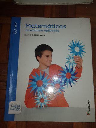 LIBRO MATEMÁTICAS APLICADAS 3°ESO
