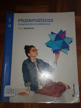 LIBRO 4°ESO MATEMÁTICAS ACADÉMICAS