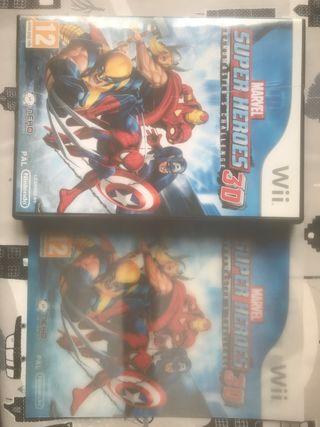 Súper Héroes 3d wii