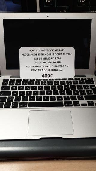 macbook air de 11 pulgadas i5 2015