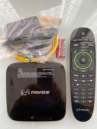 Decodificador Descodificador Movistar HDTV