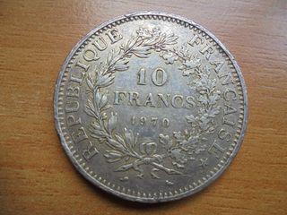 muneda antigua francesa