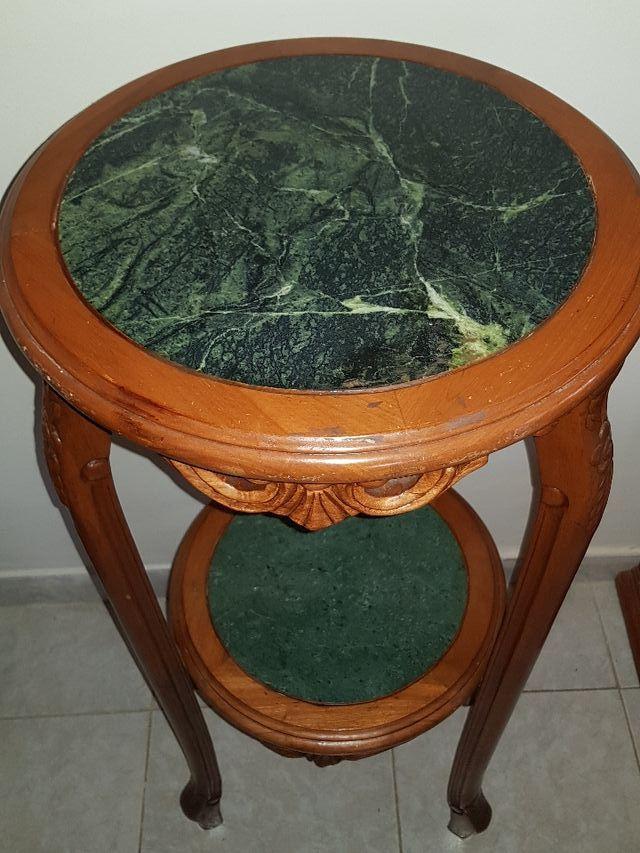 Mueble antiguo mesa alta