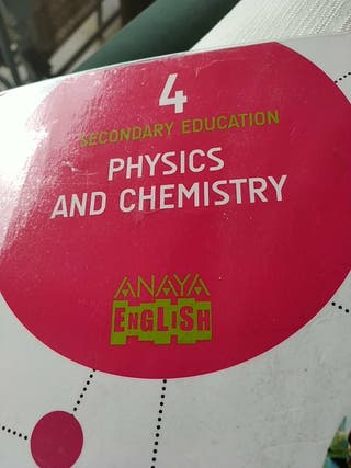 Libro PHYSICS AND CHEMISTRY 4 ESO